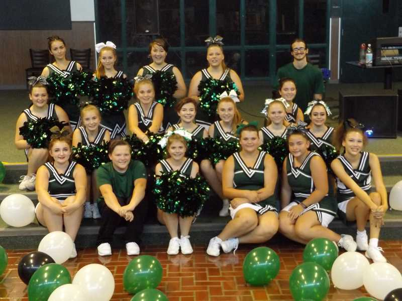CONTRIBUTED PHOTO - There is a youth cheer camp scheduled for October in Estacada.