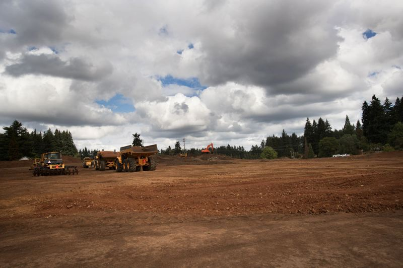 PORTLAND TRIBUNE: JAIME VALDEZ - Site preparation underway in the Basalt Creek area between Wilsonville and Tualatin.