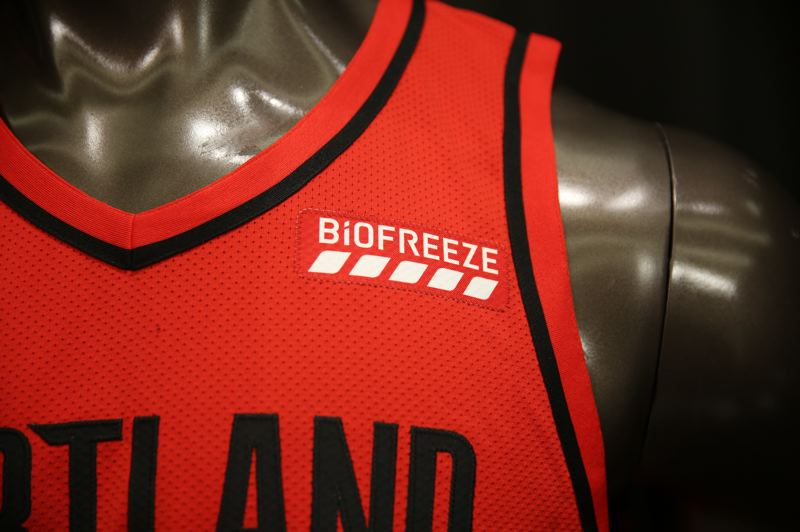 897e788f1 COURTESY  TRAIL BLAZERS - The Portland Trail Blazers will have a new  uniform look in