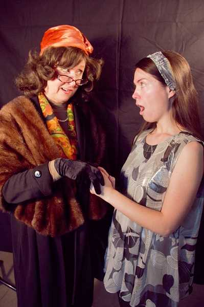 COURTESY PHOTO: HART THEATER - Cast members Beth Self and Rachel Roberts star in HART's production of 'Barefoot in the Park.'