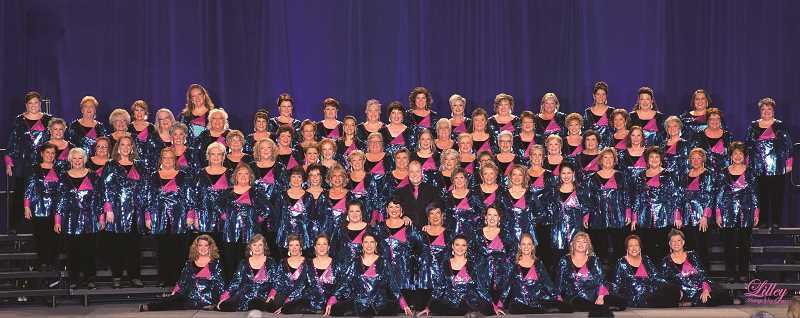 COURTESY PHOTO - The Pride of Portland Chorus ready for their International Competition.