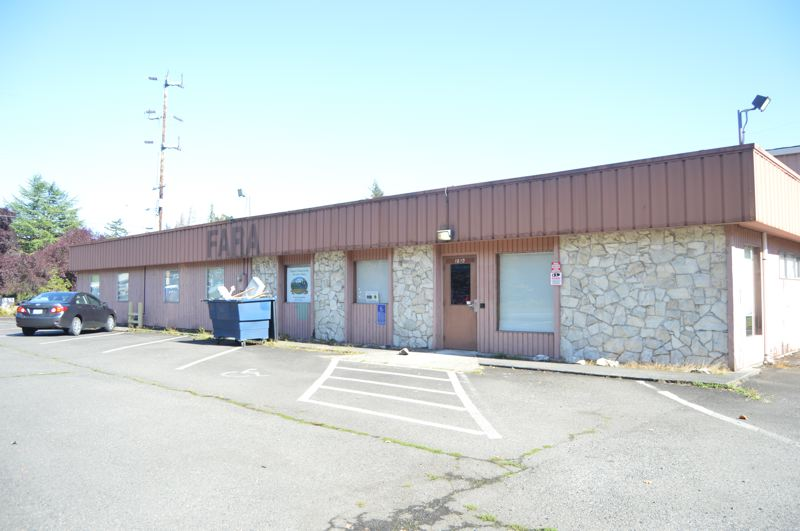 SPOTLIGHT PHOTO: NICOLE THILL-PACHECO - The city owns this building on Old Portland and Kaster roads, which formerly housed the FARA gym facility. The city is working to update the facility and repair it so it can be used for the citys recreation program.