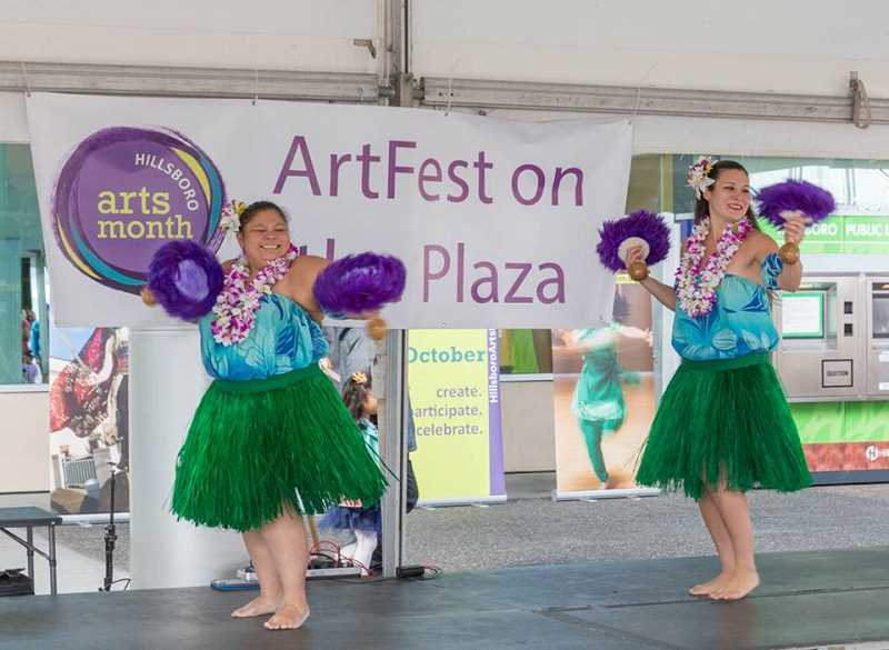 COURTESY PHOTO: CITY OF HILLSBORO - ArtFest on the Plaza is a free event to begin a month filled with arts and culture activities throughout Hillsboro.