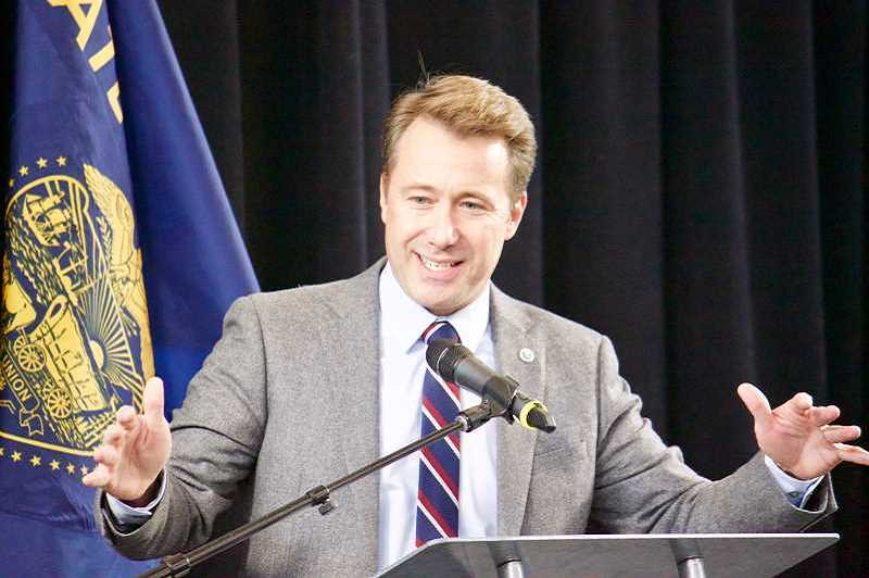 OUTLOOK FILE PHOTO - Gresham Mayor Shane Bemis is running for reelection to his fourth term.