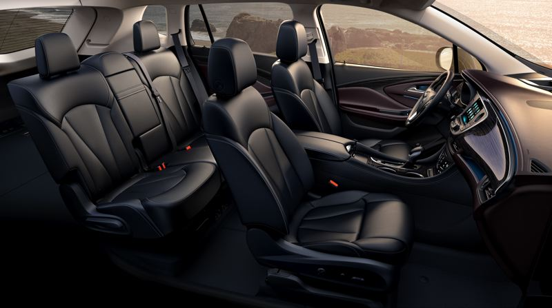 COURTESY GENERAL MOTORS - The 2019 Buick Envision will carry five in comfort.
