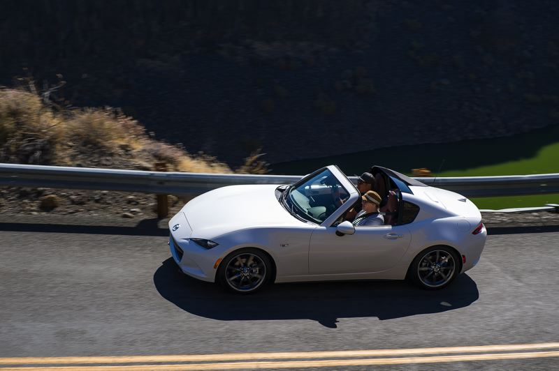 DOUG BERGER/NWAPA - The Northwest Most Fun in the Sun winner is the 2019 Mazda MX-5 Miata RF.
