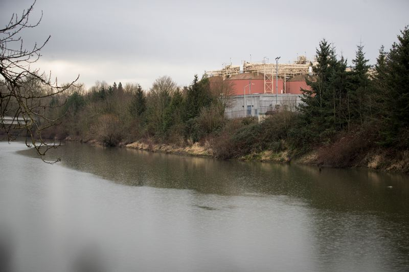 PORTLAND TRIBUNE: JAIME VALDEZ - The Columbia Boulevard Wastewater Treatment plant, Portland's main sewage plant, converts waste into renewable natural gas. Metro is negotiating with the city and Waste Management Inc. to add a food-waste processing facility there that would make renewable energy from the Portland area's food scraps.