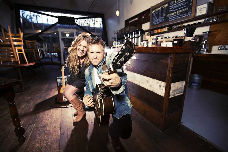 COURTESY PHOTO: THE WALTERS CULTURAL ARTS CENTER -  Local Americana group and married duo Skybound Blue will perform in Hillsboro on Friday, Oct. 5.