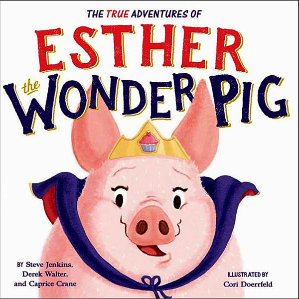COURTESY PHOTO - A Port Orford elementary school aide thought Esther The Wonder Pig's story was inappropriate for young children.