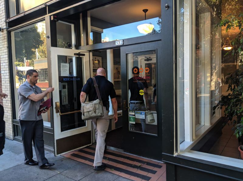 (Image is Clickable Link) PHOTO BY TREVOR AULT FOR KOIN 6 NEWS - Portland Police are investigating a suspicious death inside an Old Town apartment.
