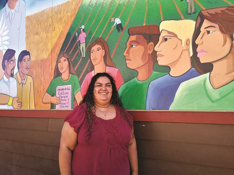 JUSTIN MUCH - Lorena Manzo made the long journey from Jalisco, Mexico to the United States when she was 16, eventually settling in Woodburn where she has worked tirelessly to better the community and help others the way she was helped along the way to Oregon by various good samaritans.