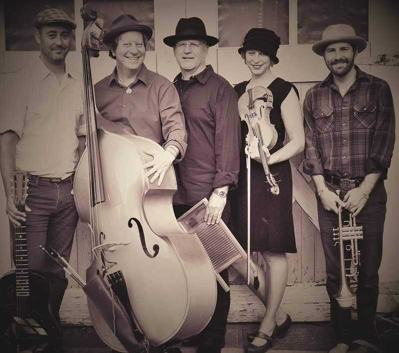 The Hops and Honey Good Time Band will play in Canby on Saturday, Oct. 13.