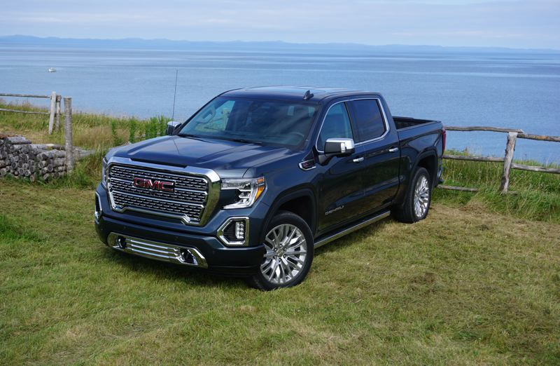 PORTLAND TRIBUNE: JEFF ZURSCHMEIDE - The 2019 GMC Sierra will be available in six different trim levels , including a new off-road optimized AT4 trim. Buyers will be able to choose from six engines and three transmissions.