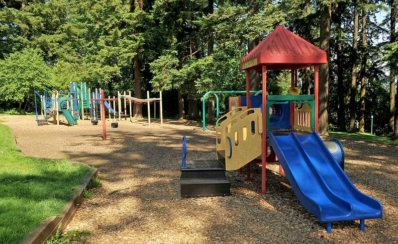 TIDINGS FILE PHOTO - Sunset Primary School's replacement prompted the removal of the adjacent park, which the City has placed on its short list of major park bond projects.