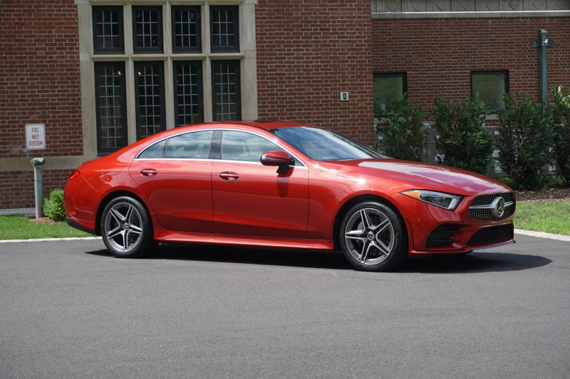 PORTLAND TRIBUNE: JEFF ZURSCHMEIDE - Mercedes says the new CLS is a design icon as the archetype of the four-door coupe.
