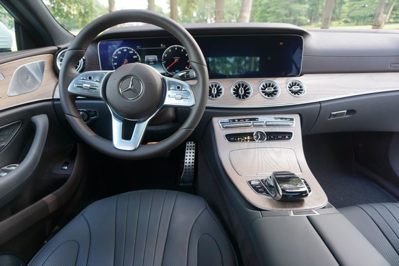 PORTLAND TRIBUNE: JEFF ZURSCHMEIDE - The new CLS 450 is a technology showcase, with features like a head-up display, 12.3-inch touchscreen display with navigation.