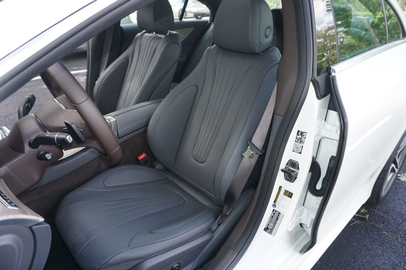 PORTLAND TRIBUNE: JEFF ZURSHMEIDE - The new CLS 450 has it all, like heated and ventilated seats, massage functions, and the ability to diffuse fragrances through the climate control system.