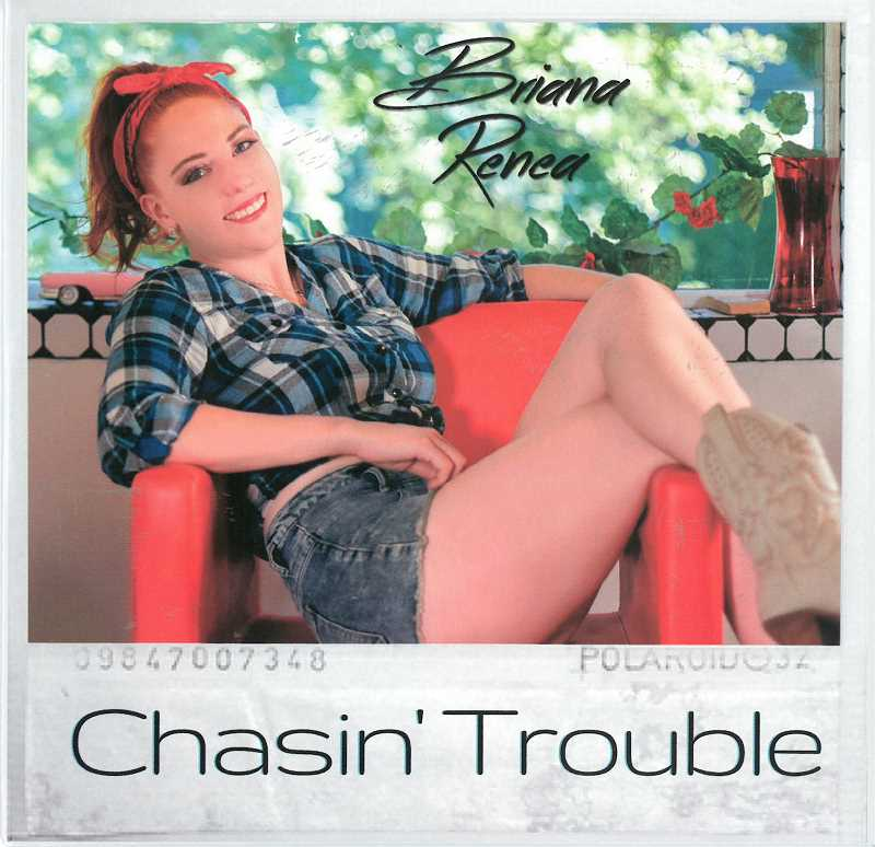 SUBMITTED PHOTO  - Briana Renaes Chasin Trouble will be debuting on country radio Oct. 4.