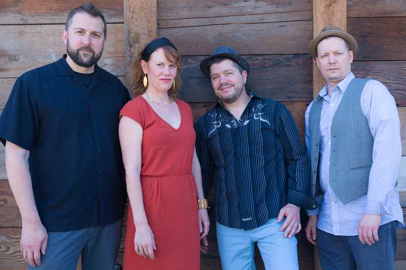 SUBMITTED PHOTO  - Red Bird, featuring Bre Gregg and Dan Gildea with Jeff Langston and Charley Doggett, will play the Music Monday concert Oct. 15 at Lake Theater and Cafe in Lake Oswego.