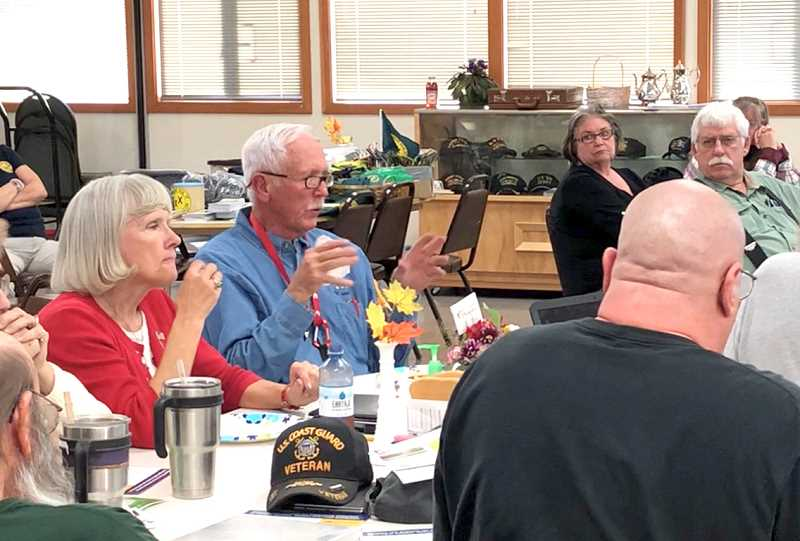 JOHN STEVENS FOR THE MADRAS PIONEER - Jefferson County Republicans meet Sept. 19, to hear a local presentation on 'State of Jefferson,' a movement asking counties primarily in Southern Oregon and Northern California to separate and create a 51st state.