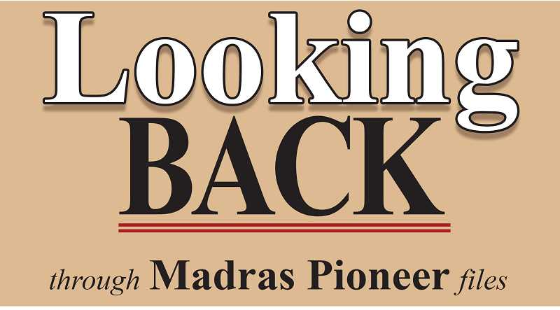 MADRAS PIONEER LOGO - The Madras Pioneer looks back through newspaper archives of the past 100 years.