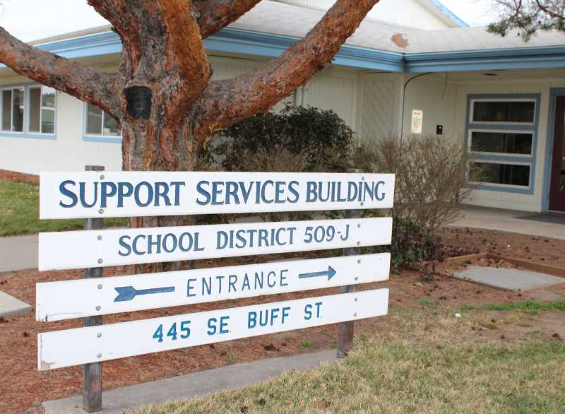 HOLLY M. GILL/MADRAS PIONEER - Teachers and School District 509-J have approved a three-year salary agreement, which includes a 2 percent salarys increase, which was effective retroactively beginning Aug. 28.