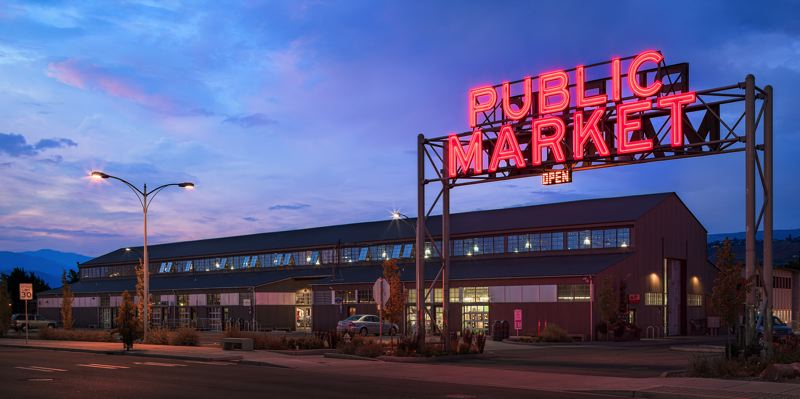 COUTESY: GRAHAM BABA ARCHITECTS - Pybus market by the same architect gives a good idea of how the Vancouver Waterfront market will look.