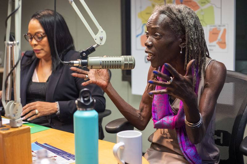 PORTLAND TRIBUNE: JONATHAN HOUSE - Multnomah County Commissioner Loretta Smith and activist Jo Ann Hardesty answered questions from the Portland Tribune editorial board on Sept. 27.