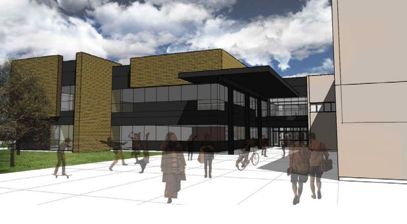 COURTESY PHOTO - While design plans for the school are not yet set in stone, architects revealed prelimary visions during an informational meeting on Monday night, Oct. 1.
