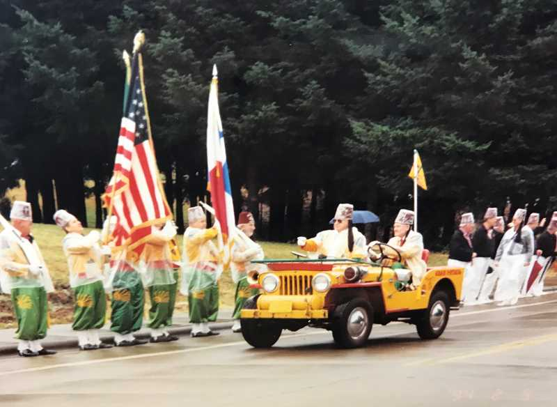 PHOTO: WILSONVILLE-BOONES FERRY HISTORICAL SOCIETY - Recent-history pics of Wilsonville, like this one from a 1980s-era Boonese Ferry Days parade, are just the kind being sought for an upcoming PHoto Roundup, where you can share your snapshots without them having to leave your sight.