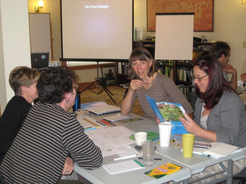 COURTESY: EAST MULTNOMAH COUNTY SOIL AND WATER DISTRICT - A scene from one of last year's gardening workshops.