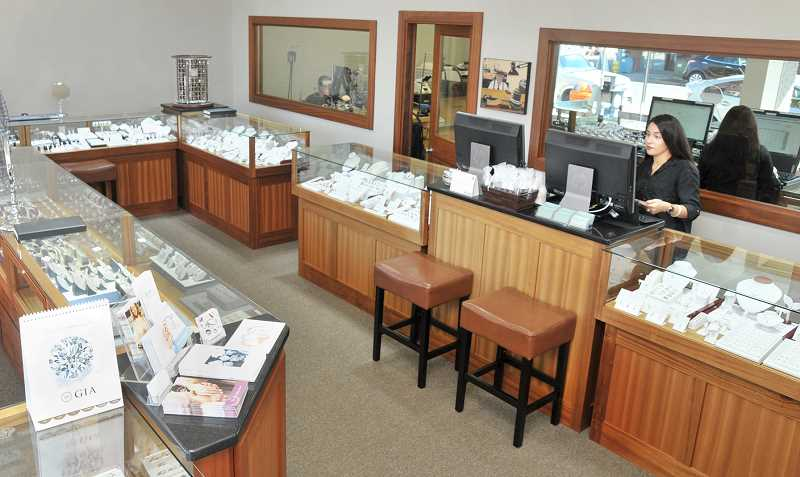 GARY ALLEN - Ken and Daughter Jewelers recently moved its First Street showroom next door into a larger and newly-remodeled showroom.