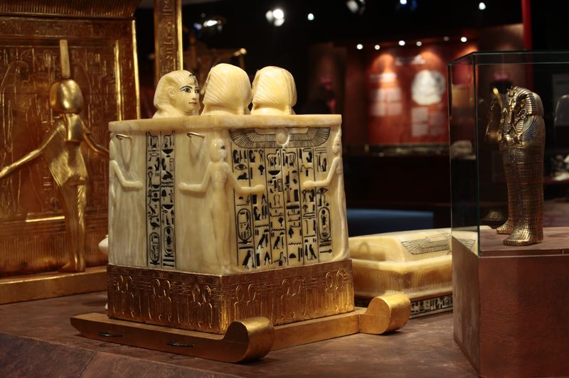 COURTESY: OMSI - 'The Discovery of King Tut' exhibit opens at OMSI on Saturday, Oct. 6.