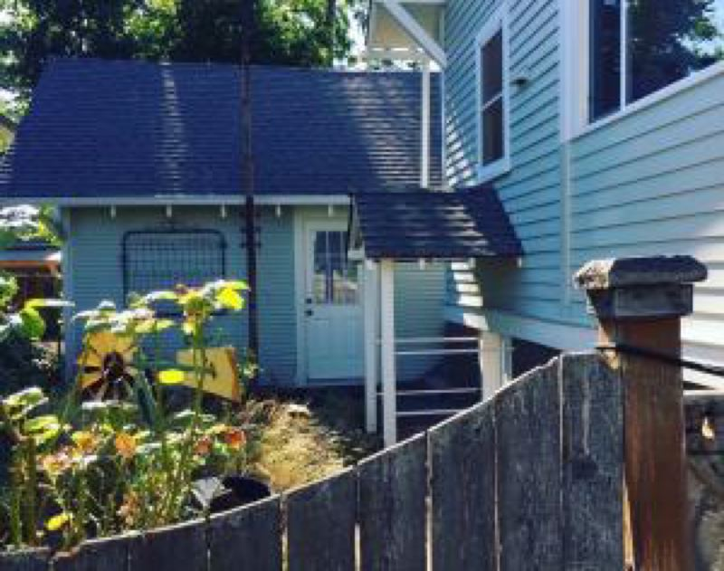 PHOTO COURTESY OF 1,000 FRIENDS OF OREGON - An accessory dwelling unit in a Northeast Portland neighborhood. Columbia County commissioners are slated to consider a zoning amendment that would address and allow ADUs in Columbia County.