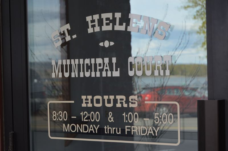 SPOTLIGHT FILE PHOTO - A recently adopted universal fee schedule approved by the St. Helens City Council now includes city-appointed attorney fees so clients of the court will have a better understanding of what fees might be incurred.