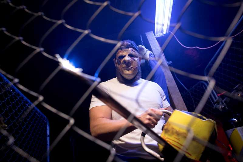 TIMES PHOTO: JAIME VALDEZ - In addition to a scary haunted house, actors bring Fearlandia alive.