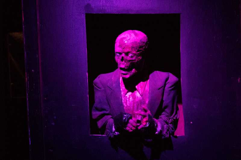 TIMES PHOTO: JAIME VALDEZ - If it's scares you're after, they have them at Feadlandia.