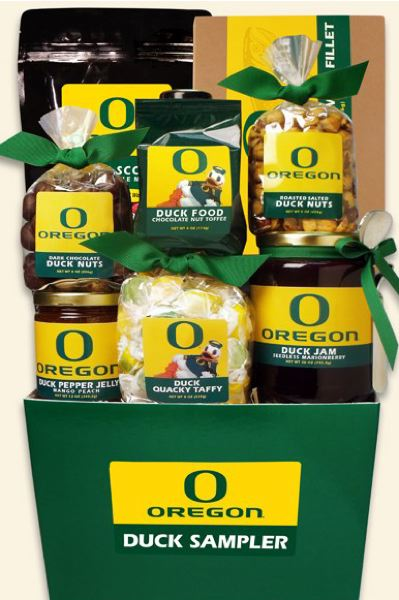 Oregon Duck Sampler makes the perfect gift for the Duck fan in your life.