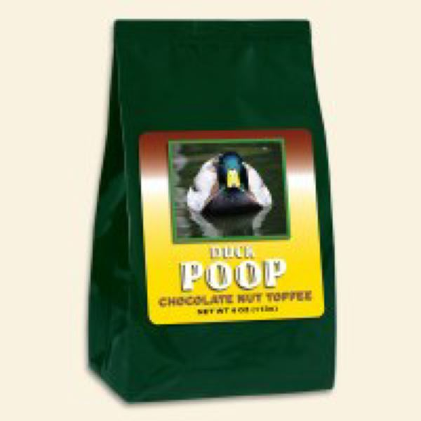 Duck or Beaver Poop makes the perfect gift for Halloween.