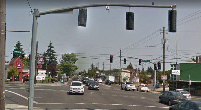 COURTESY GOOGLE MAPS - Sandy Boulevard at Northeast 57th Avenue is shown here.
