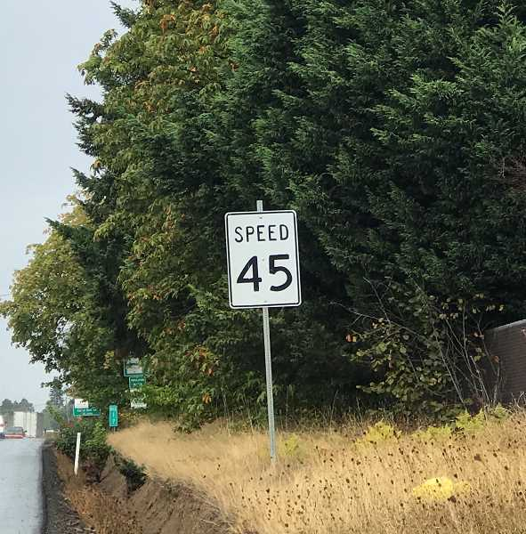 COURTESY OF SHERWOOD POLICE DEPARTMENT - Sherwood police will begin ticketing speeders going more than 11 mph along Highway 99W at Sunset Boulevard and Tualatin-Sherwood Road.