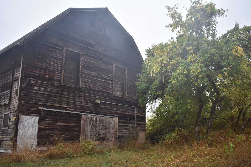 ESTACADA NEWS PHOTO: EMILY LINDSTRAND - This barn at Milo McIver State Park is home to Townsend's big-eared bats for part of the year.