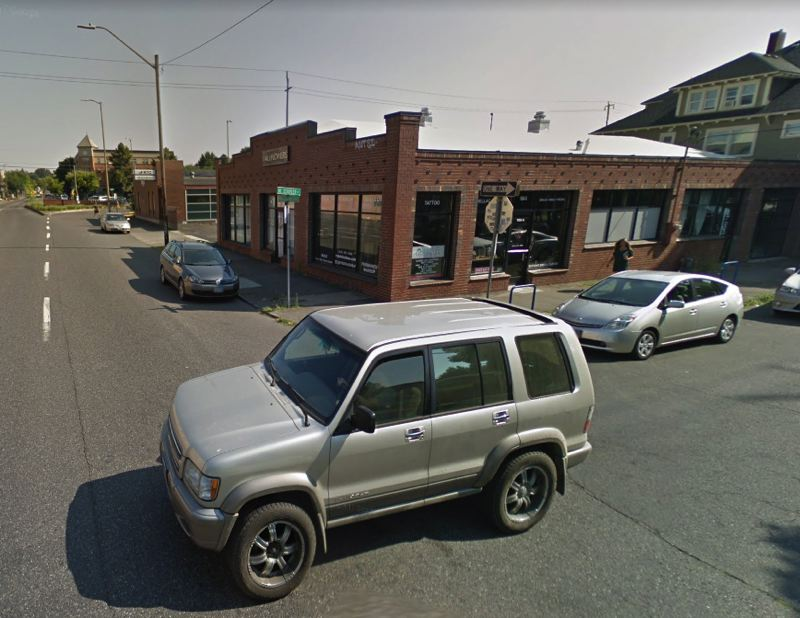 COURTESY GOOGLE MAPS - Police say the robbery and assault occurred on this street corner in North Portland.