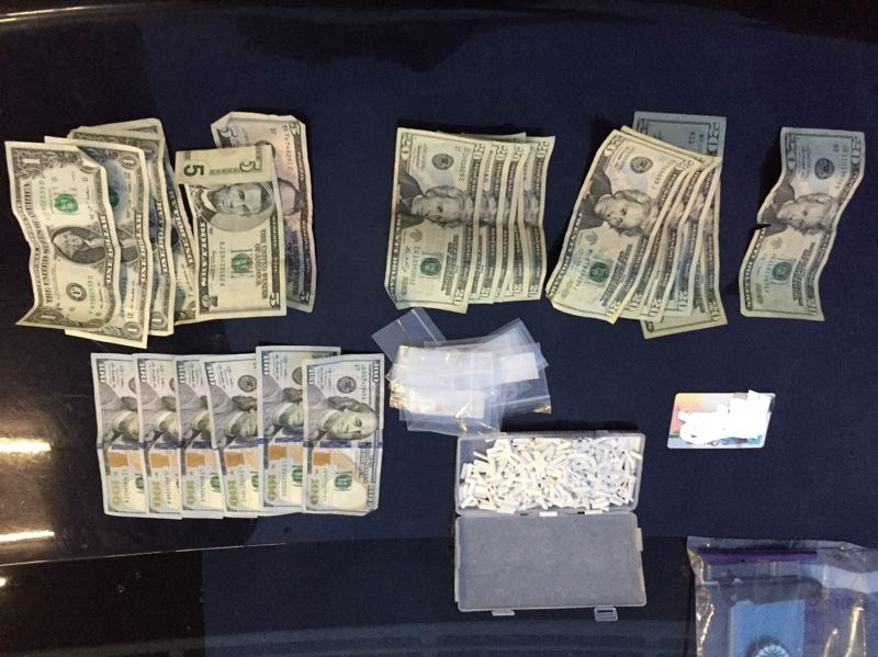 POLICE PHOTO - Police say they seized these illegal drugs and cash from Pradith in October.