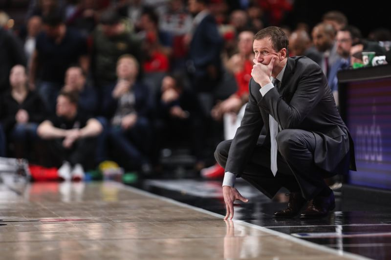 TRIBUNE FILE PHOTO: DAVID BLAIR - Seventh-year Trail Blazers coach Terry Stotts says he's 'not a major-market kind of guy,' and has been blessed with more talent in Portland than he had in head coaching stints with Milwaukee and Atlanta.