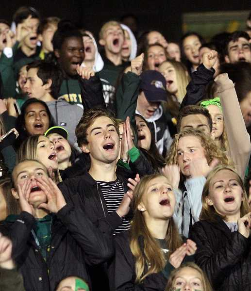 TIDINGS FILE PHOTO  - Students get ready to release their school spirit during this year's homecoming.