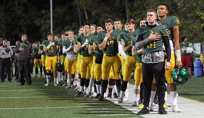 TIDINGS FILE PHOTO  - The West Linn will take on Tigard during the homecoming 2018 football game.
