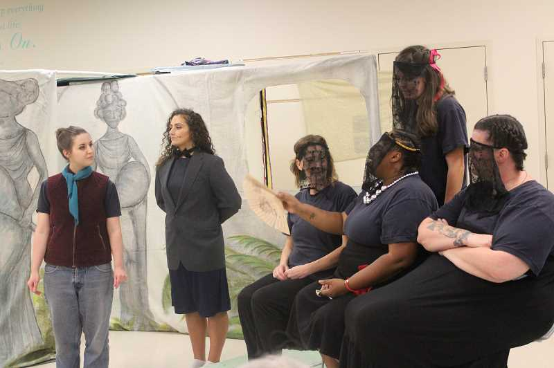Few of the CCCF actors had previous theatrical experience before getting involved in the current show.