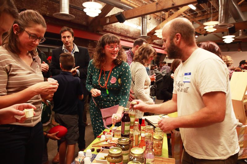 PHOTO BY SHINO YANAGAWA - Portland's annual stink fest continues to grow as home fermentation grows in popularity. Attendees come for tastings, demos, inspiration and expert advice. This year they'll take home their own mini ferment as well.