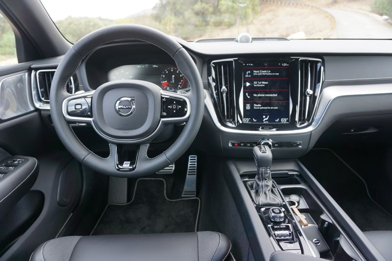 PORTLAND TRIBUNE: JEFF ZURSCHMEIDE - The interior of the 2019 Volvo S60 has received substantial upgrades, including a new operating system for the Sensus Connect infotainment and control system.